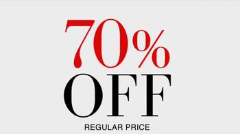 JoS. A. Bank TV Spot, '70% Off' - Thumbnail 3