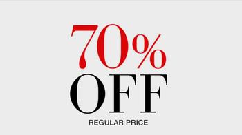 JoS. A. Bank TV Spot, '70% Off' - Thumbnail 5