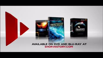 Universe on Blu-Ray and DVD TV Spot, 'History.com' - 63 commercial airings