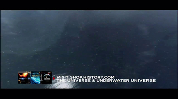Universe on Blu-Ray and DVD TV Spot, 'History.com' - Thumbnail 4