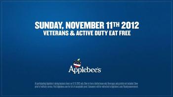 Applebee's Veteran's Day TV Spot, 'Thank You' Featuring Zac Brown - Thumbnail 6