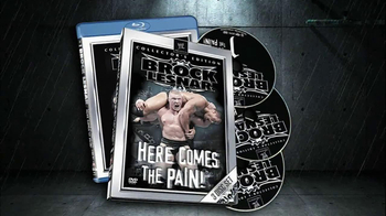 Brock Lesnar Here Comes the Pain Blu-Ray and DVD TV Spot - Thumbnail 4