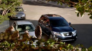 2013 Nissan Pathfinder TV Spot, 'Parallel Parking Birds' - Thumbnail 1