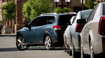 2013 Nissan Pathfinder TV Spot, 'Parallel Parking Birds' - Thumbnail 4