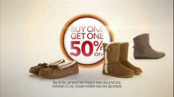 Payless Shoe Source TV Spot, 'BoGo'