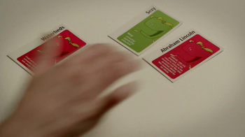 Apples to Apples TV Spot, 'Sexy Abraham Lincoln' - Thumbnail 6