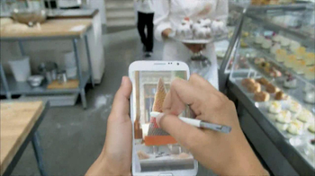 Galaxy Note II TV Spot, 'Birthday Photo' Feat. Rosie Huntington-Whiteley - Thumbnail 4