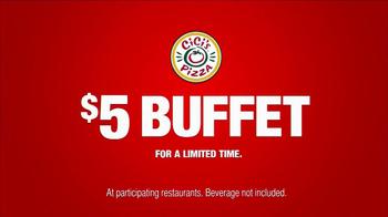CiCi's Pizza TV Spot, '$5 Endless Pizza Buffet' - Thumbnail 7