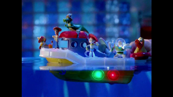 Toy Story Partysaurus Boat TV Spot, 'Bath Time' - Thumbnail 4