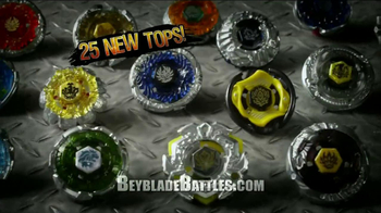BeyBlade Metal Fury Tops TV Spot