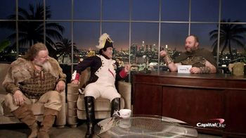 History Channel & Capital One TV Spot, 'Inside History with Garth Napoleon' - 14 commercial airings