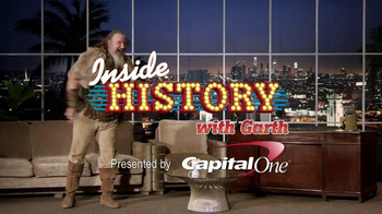 History Channel & Capital One TV Spot, 'Inside History with Garth Napoleon' - Thumbnail 1