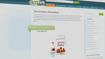 CouponCabin.com Newsflash TV Spot  - Thumbnail 5