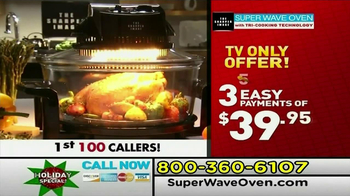 Superwave Oven TV Spot  - Thumbnail 4