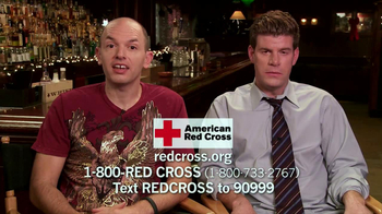 American Red Cross TV Spot Featuring Paul Scheer and Stephen Rannazzis