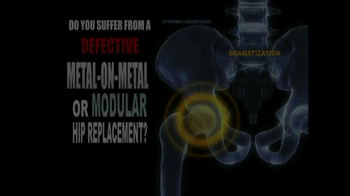 Weitz and Luxenberg TV Spot, 'Metal-on-Metal Hip Replacement' - Thumbnail 1