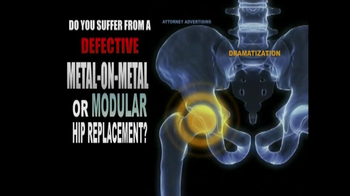 Weitz and Luxenberg TV Spot, 'Metal-on-Metal Hip Replacement' - Thumbnail 2