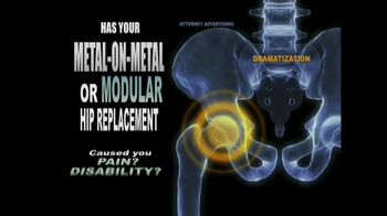 Weitz and Luxenberg TV Spot, 'Metal-on-Metal Hip Replacement' - Thumbnail 4