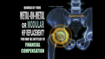 Weitz and Luxenberg TV Spot, 'Metal-on-Metal Hip Replacement' - Thumbnail 7