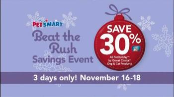 PetSmart Beat the Rush Sale TV Spot, 'Purina' - Thumbnail 6
