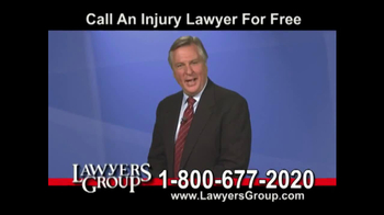 Lawyers Group TV Spot, 'Car Accident'