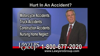 Lawyers Group TV Spot, 'Car Accident' - Thumbnail 3