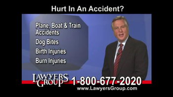 Lawyers Group TV Spot, 'Car Accident' - Thumbnail 4