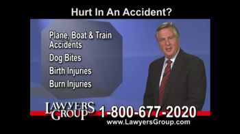 Lawyers Group TV Spot, 'Car Accident' - Thumbnail 5
