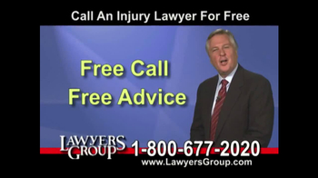 Lawyers Group TV Spot, 'Car Accident' - Thumbnail 6