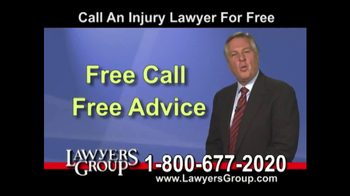 Lawyers Group TV Spot, 'Car Accident' - Thumbnail 7