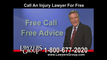 Lawyers Group TV Spot, 'Car Accident' - Thumbnail 8