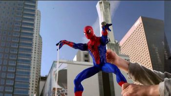 Motorized Web-Shooting Spider-Man TV Spot, 'Bad Guys Can't Escape'