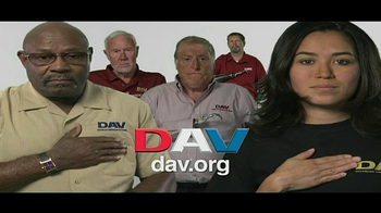 Disabled American Veterans TV Spot Featuring Gary Sinise  - 7 commercial airings