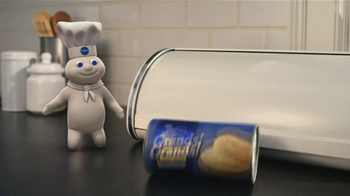 Pillsbury Grands! Flaky Layers TV Spot, 'Plain Boring Bread' - Thumbnail 2