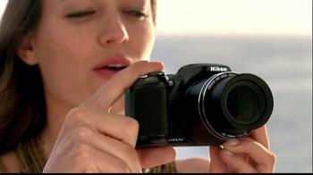 Nikon Coolpix TV Spot, 'Beachside Zoom' Featuring Ashton Kutcher - Thumbnail 4