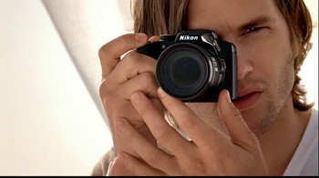 Nikon Coolpix TV Spot, 'Beachside Zoom' Featuring Ashton Kutcher