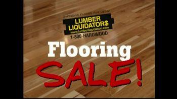 Lumber Liquidators Flooring Sale TV Spot, 'Clean Up for the Holidays'