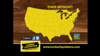 Lumber Liquidators Flooring Sale TV Spot, 'Clean Up for the Holidays' - Thumbnail 8