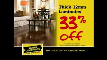 Lumber Liquidators Flooring Sale TV Spot, 'Clean Up for the Holidays' - Thumbnail 3