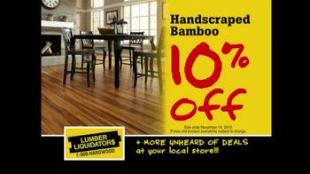 Lumber Liquidators Flooring Sale TV Spot, 'Clean Up for the Holidays' - Thumbnail 4