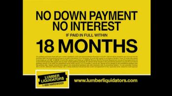 Lumber Liquidators Flooring Sale TV Spot, 'Clean Up for the Holidays' - Thumbnail 5