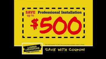 Lumber Liquidators Flooring Sale TV Spot, 'Clean Up for the Holidays' - Thumbnail 6