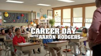 State Farm Double Check TV Spot, 'Career Day' Feat. Aaron Rodgers - 166 commercial airings