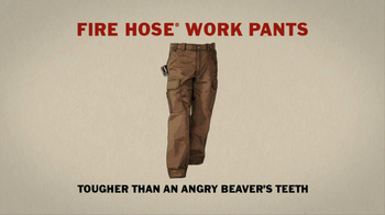 Duluth Trading Fire Hose Work Pants TV Spot 'Giant Angry Beaver' - Thumbnail 9