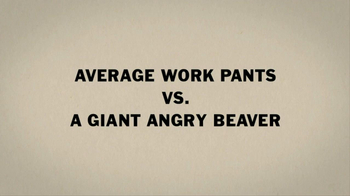 Duluth Trading Fire Hose Work Pants TV Spot 'Giant Angry Beaver' - Thumbnail 1