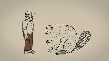 Duluth Trading Fire Hose Work Pants TV Spot 'Giant Angry Beaver'