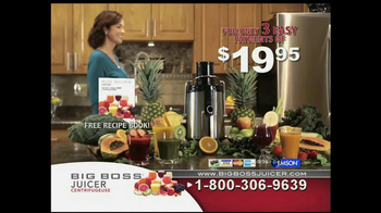 Big Boss Juicer TV Spot, 'You Are What You Eat' - Thumbnail 9