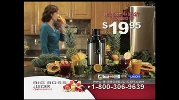 Big Boss Juicer TV Spot, 'You Are What You Eat' - Thumbnail 8