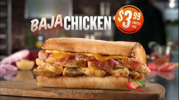 Quiznos Baja Chicken TV Spot - Thumbnail 7