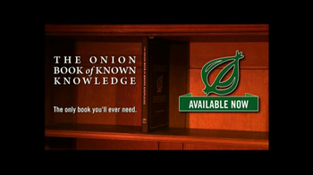 The Onion Book of Known Knowledge TV Spot - Thumbnail 5